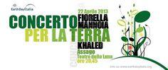Earth Day Italia: concerto al Forum di Assago con Mannoia e Khaled