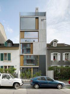 Wohnhaus Bläsiring in Basel - Beton - Wohnen/MFH - baunetzwissen.de