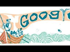 Google honors Herman Melville with a nice Moby Dick Google Doodle 10/18/2012