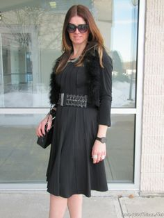 black dress#vestido preto#midi#elegant#nice#love it