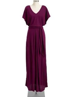 Tie belt jersey maxi dress....I think I'm just going to live in maxi skirts and dresses this summer