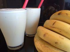 Jammie, bananen milkshake