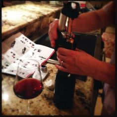 """Pinot taste test at Chez Hirschlanders. #coravin #birthdaypresent"" via jbarnizzlewitz on Instagram"