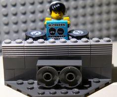 Lego Man, Dj, Studio, Studios