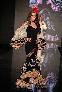 Trajes de Flamenca - SIMOF 2013 - Aurora Gaviño