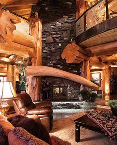'Timber Kings' Log Mansion Asks $9.2-Million in Big White (PHOTOS) | Pricey Pads