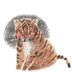 "🌟Мария Маргевич🖍's Instagram post: ""🌠Когда не ожидал🐯"" Tiger Art, Lion Sculpture, Statue, Animals, Instagram, Animales, Animaux, Animal, Animais"