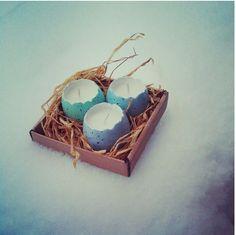 Easter egg diy candels