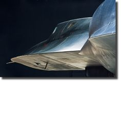 SR 71. Largely coated in Titanium to withstand the high temperatures seen at multiple mach speed.