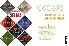 Post de contagem regressiva para o Oscar 2015 para redes sociais do canal E!