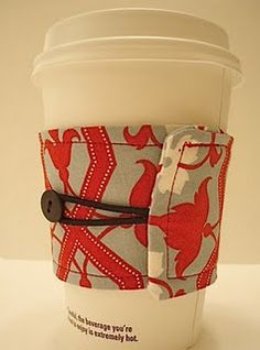 Many tutorials, but you have to search the page for them: http://love-2-create.blogspot.com/2009/10/giveaway-2-coffee-cozy-starbucks.html
