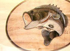 Fish String Art Kit Vintage 1970s NIB by bythewayside on Etsy