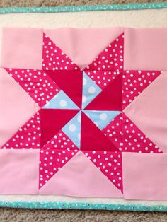 dream quilt create: Riley Blake Mystery block of the month - April