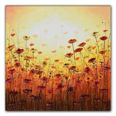 Stunning original painting on canvas of pretty fiery poppies. Textured with gold and bronze. Signed on the reverse, varnished and ready to hang from parcel box to your wall! Sale Artwork, Original Paintings, Paintings For Sale, Buy Art, Lovers Art, Art Drawings, Painting, Art, Acrylic Painting Canvas