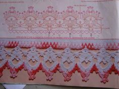 free crochet border edging - Bordo