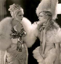 """maudelynn: """" Billie Dove and Marion Davies in Blondie of the Follies """" Popular Actresses, Actors & Actresses, Vintage Hollywood, Classic Hollywood, Billie Dove, Billie Burke, Marion Davies, Film D'action, Classic Movie Stars"""