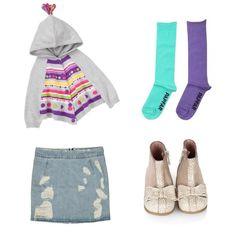 Renkli kızların kombini  Gymboree Winter Flower Panço 10900 TL Puledro Kıds Kız Çocuk Etek 4613 TL Bebbini Kız Çocuk Botu Bej 18900 TL Papfar Celine 2'li Çorap Set-Yeşil/Mor 2690 TL #kızçocukgiyim #tarzkızlar #kızmodası #tarzımızfarkımız #kalite #markabebefarkı