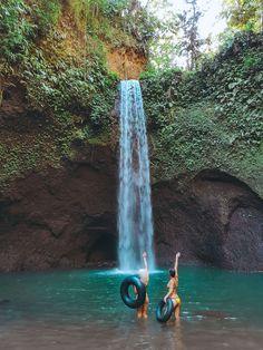 Tibumana Waterfall in Ubud, Bali