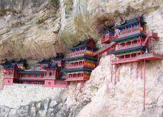Mosteiro Suspenso - CHINA