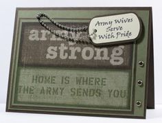OWH Midweek Throwdown ~ Army Wives Serve With Pride card
