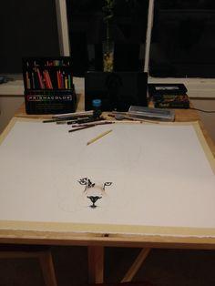 Color Pencil In progress... Tara Geier