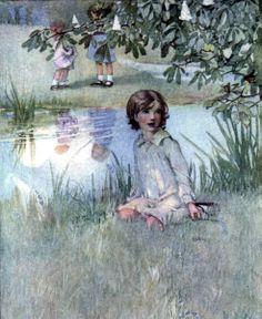 Art by Honor C. Appleton (1911) from INNOCENCE SONGS by William Blake.