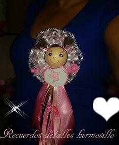 corsage mamita de fofucha bebé baby shower