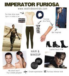 DIY: Mad Max's Imperator Furiosa costume - easy & chic   Disfraz de Furiosa, fácil y chic