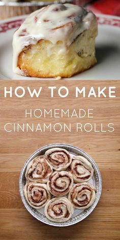 DELICIOUS Homemade Cinnamon Rolls!!