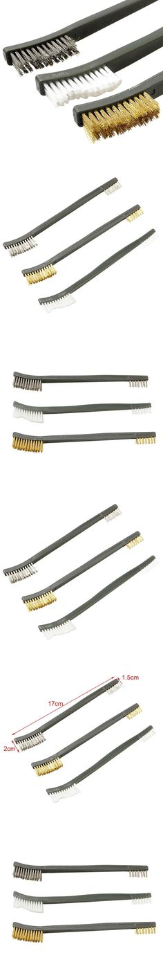 New Airsoft 3pcs/Set Wire Brush Cleaning Kit For Hand Gun Hunting Tactical Shortgun Rifle Cleaning Tool Brush Set
