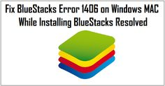 Fix BlueStacks Error 1406 on Windows MAC While Installing BlueStacks Resolved– You might have come across a lot of errors while installing a fresh copy of Android Emulator on your desktop or laptop, one such error is BlueStacks Error 1406 – This error may encounter in any of the devices like Windows, Mac or Linux.Read More…