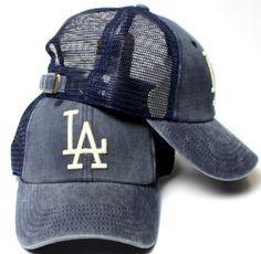 2b179080df7 American Needle Los Angeles Dodgers Raglan Bones Soft Mesh Back Slouch  Twill Cap by American Needle