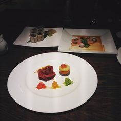 Beauty on the table #Nobu#Armani#Milan#fusion#tuna#tataki#yummy by ifuloveit_shootit