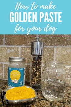 The how, why, and what of golden paste — aka tumeric paste — for your dog! The how, why, and what of golden paste — aka tumeric paste — for your dog! Tumeric And Coconut Oil, Coconut Oil Coffee, Coconut Oil For Dogs, Benefits Of Coconut Oil, Tumeric Paste For Dogs, Golden Paste For Dogs, Golden Paste Recipe, Really Big Dogs, Diy Crafts