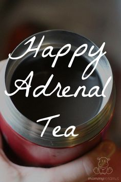 This recipe for adrenal support tea is made with adaptogens, which nourish the adrenals and help the body adapt to stress.