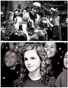 Hermione Understands That One Of The Things Ron Craves The Most Is Recognition!