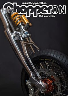 Srpinger type front end | Aluminium & Öhlins shock absorber | ChopperON #65…