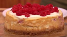 Try this classic, make-ahead cheesecake, perfect for Summer entertaining. My Recipes, Cake Recipes, Cooking Recipes, Favorite Recipes, Gino D'acampo, Raspberry Cheesecake, Cheesecakes, Food To Make, Lemon