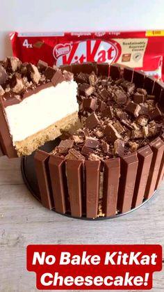 No Bake Desserts, Just Desserts, Delicious Desserts, Dessert Recipes, Fun Baking Recipes, Sweet Recipes, Brownie Recipes, Cheesecake Recipes, Pumpkin Cheesecake