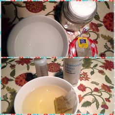 Tónico casero con infusión de manzanilla