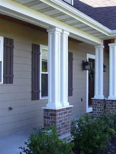 Image Result For House Columns Exterior