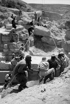 Abu Rawash, fouilles du complexe funéraire de Radjedef. Campagne 1995.