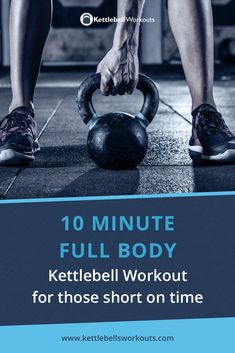 Discover a 10 minute kettlebell workout that activates over 600 muscles while also challenging your cardio, mobility, stability and core strength. Kettlebell Training, Kettlebell Workout Routines, Kettlebell Workouts For Women, Kettlebell Clean, 30 Day Ab Workout, Kettlebell Benefits, Kettlebell Challenge, Kettlebell Circuit, 10 Minute Workout