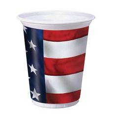 US Pride16 Ounce Cups #America #WildChild