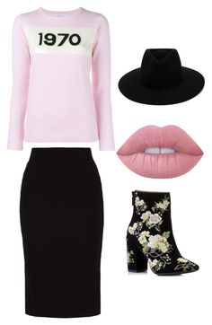 """zestaw"" by sylwia-krajewska-stanislawiak on Polyvore featuring moda, Bella Freud, even&odd, Miss Selfridge, rag & bone i Lime Crime"
