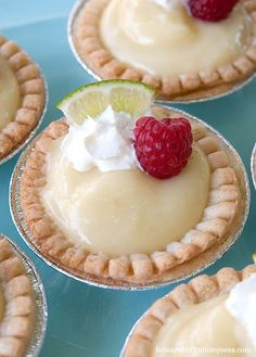 I'm thinking of packing these Sweet Citrus Tarts for a picnic that's coming up. They're cute and tasty!
