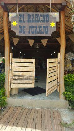 puertas fiesta vaquera