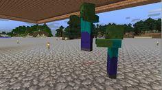 Orphea2012 Youtube et Minecraft: Minecraft   Des zombies en pleine lévitation