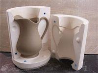 3 part jug plaster mould from Brunswick Mould Making Services Ceramic Clay, Porcelain Ceramics, Ceramic Pottery, Ceramic Techniques, Pottery Techniques, Plaster Crafts, Keramik Design, Plaster Molds, Mould Design