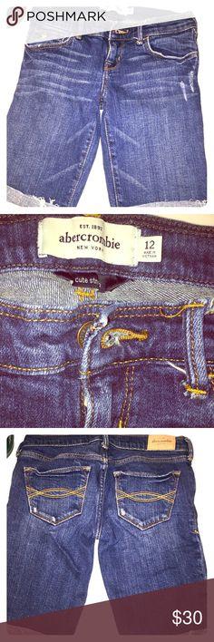 Abercrombie kids (girls) Bermuda shorts Abercrombie girls bermuda cuffed shorts. Length is 14.4 inches abercrombie kids Bottoms Shorts